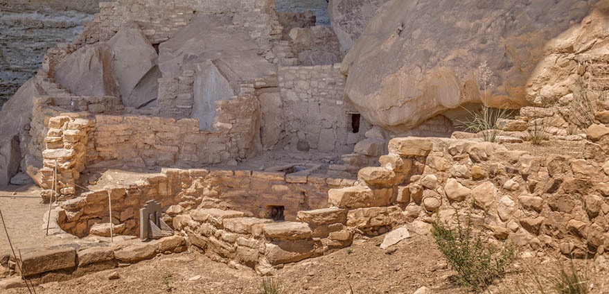 Step House Ruins, Mesa Verde National Park, Colorado, USA